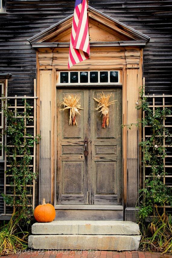 Items similar to fall autumn doorway door harvest rustic for Front door decoration indian style