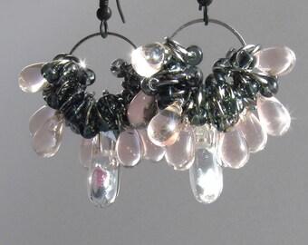 Pink Ice - earrings