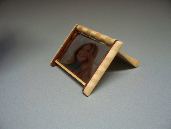 Maple Compact Mirror