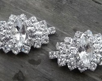 Shoe Clips, Wedding Shoe Clips, Rhinestone Shoe Clips, Bridal Shoe Clips, Rhinestone Shoe Clips, Crystal Shoe Clips for Wedding Shoes, Heels