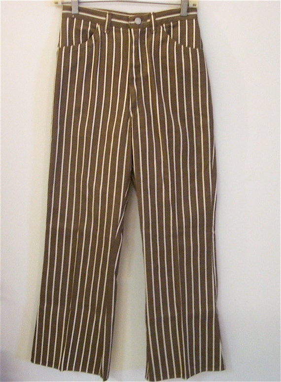 Hippie Pants Boho Clothing Style Stripe Design Pants Red One |Hippie Striped Pants