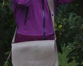 Leather Messenger Bag, iP...