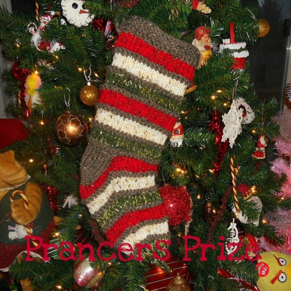 Christmas Stocking Prancers Prize
