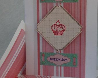 Happy Day Card Handmade Card