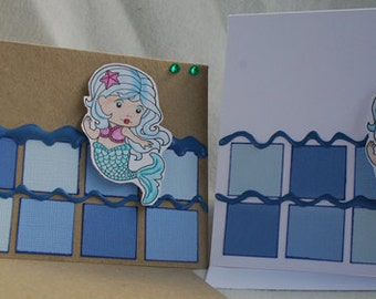 Choose Your Sentiment for Your Mermaid Card Handmade Card