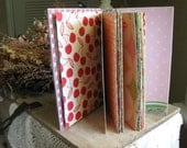 Made to Order Handmade Mini Scrapbook Album for photos, journaling, notes made by GunnySaceRace
