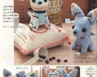 Stuffed Toys Patterns, PDF Patterns, Kawaii Ebook, Free Shipping No.28