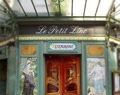 Paris Photograph - Le Petit Zinc Restaurant, Art Nouveau, Paris France, Home Decor