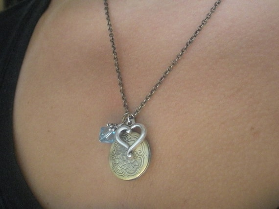 Mixed Metal Mommy Necklace