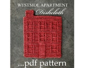 WESTSIDE APARTMENT (a knitted dishcloth pattern) Instant Download
