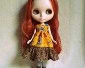 Blythe cotton print dress.