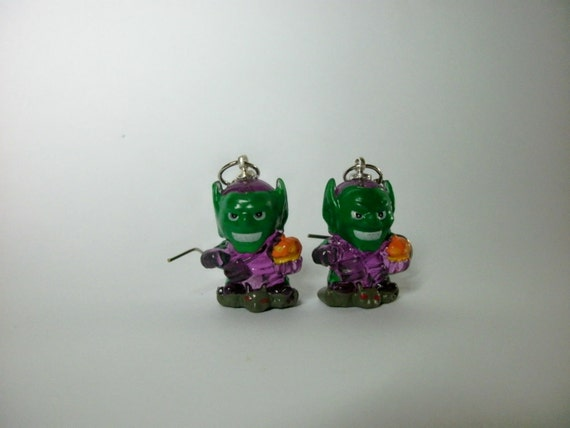 Green Goblin Earrings