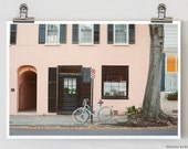 Townie Neighborhood Charleston South Carolina French Architectural Fine Art Photography Print 8 x 12