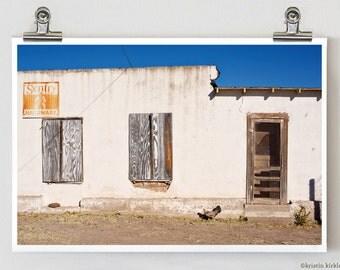 Dallas Street Chicken Marfa Texas Fine Art Photography 8 x 12