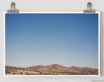 Highway 90 Marfa Alpine Big Bend Fine Art Photography Print 8 x 12