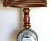 Mid Century Westinghouse Meter Lamp