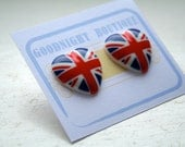 Union Jack Earrings Cute Earrings Jubilee London Earrings
