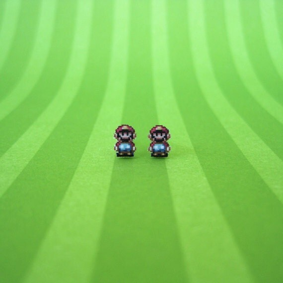 Super Mario World Earrings - SALE