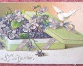 Ellen H. Clapsaddle Illustration Post Card Vintage Dove