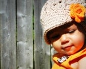 Crochet Baby Hat, kids hat, crochet newsboy hat, hat for girls, newborn hat