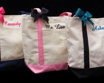 Canvas Tote Bag Wedding Bridesmaids Birthday Gifts