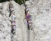 Cyber Monday, Dangle earings, Earrings, crystal earrings, dangle earrings, silver earrings, steamtm , Cyber Monday