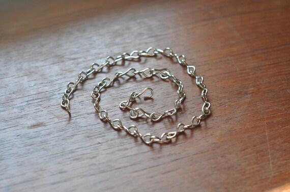 Nickel chain - 18 gauge slim - ideal for hanging smaller terrariums - terrarium chain