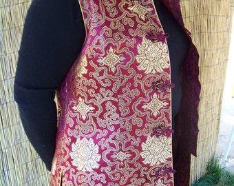 Vintage Oriental Vest. Size Large On Sale