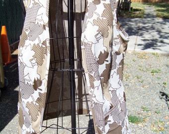 Half off          Adorable 70s Womens Vest / Size Medium