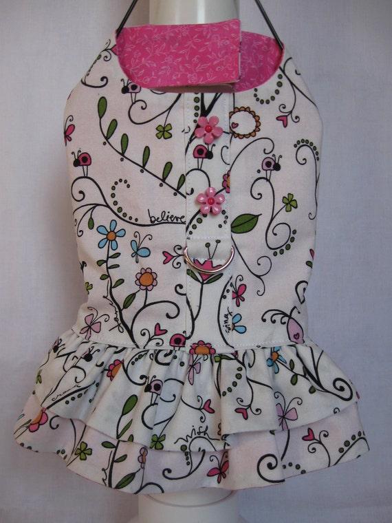 Secret Garden Halter Dress
