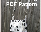INSTANT DOWNLOAD Bag PDF sewing pattern and tutorial - Satchel