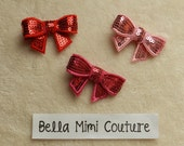 Custom Couture Sequin Hair Bows VALENTINE'S DAY SPECIAL
