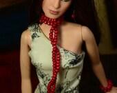 Helena Floral Jumpsuit for Barbie Basics (Model Muse) Dolls