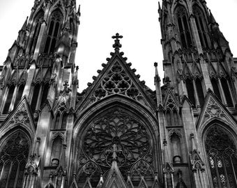 St. Patrick's Cathedral - Original Fine Art Photograph, FREE SHIPPING