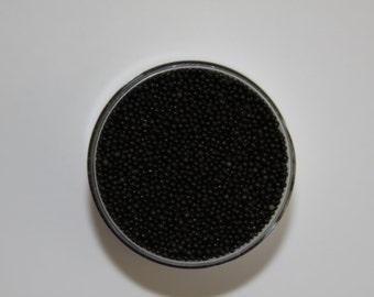 Black Nonpareils ~ Black Sprinkles ~ Cupcake Sprinkles ~ Cookie Sprinkles ~ 2oz