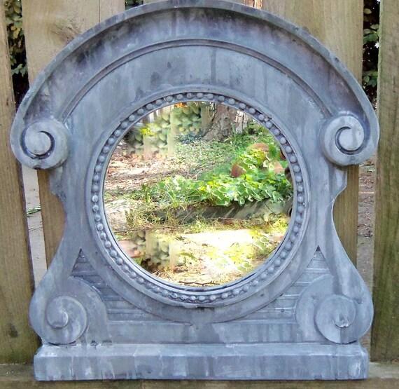 Weathered Small Dormer Mirror Treasury Item