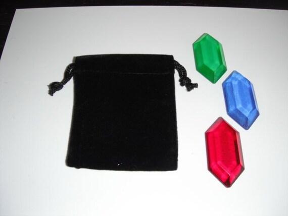 Legend of Zelda 3 Rupee Set - Child's Wallet