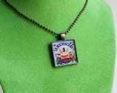 Mexican Kitsch Pendant Necklace