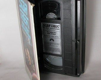 Vintage Star Trek VHS Video The Next Generation - The Naked Now -  Code Of Honor