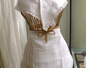Traditional Bride Set / Scarf and Apron / Ethnic Customs