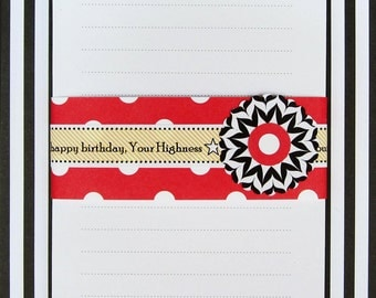 Her Highness the Queen Bee Personalized Notepad