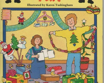 Christmas Fun - Vintage 1980s Craft Book