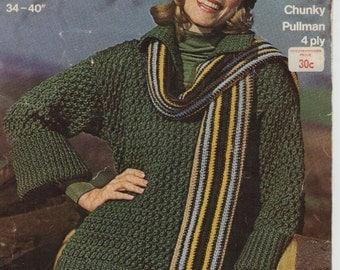 ON SALE - 3 Sirdar Knitting Patterns Vintage 1970s