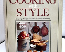 Vintage Cooking with Style c1960