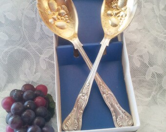 Silver Plated Serving Set Sheffield England c.1962