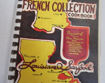 French  Cook Book by Paul Naquins c1978