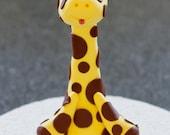 Goofy Little Giraffe Cake Topper