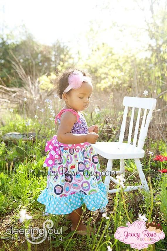 Cupcake Cutie Birthday Dress by Gracy Rose