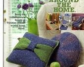 Tunisian Around the Home Crochet Pattern Book Annies Attic 879511
