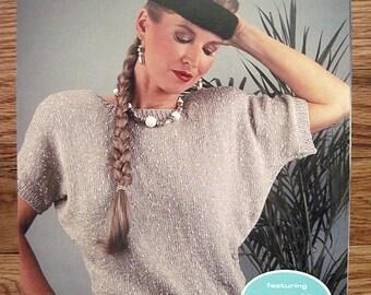 Fashion Nomotta Malva Leisure Arts Leaflet 1324 Womens Knit pullovers